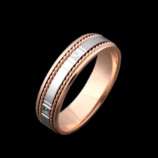 Обручальное кольцо золотое ОЗ-4021