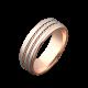 Обручальное кольцо золотое ОЗ-4022