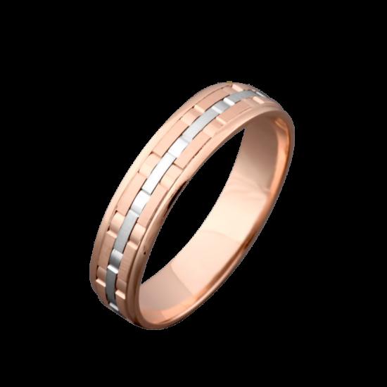 Обручальное кольцо золотое ОЗ-4024