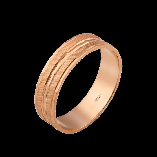 Обручальное кольцо золотое ОЗ-5001