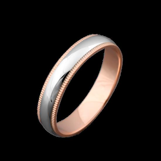 Обручальное кольцо золотое ОЗ-5602