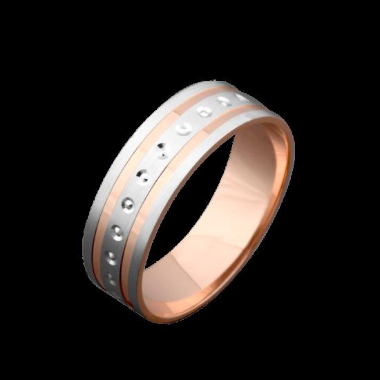 Обручальное кольцо золотое ОЗ-6030