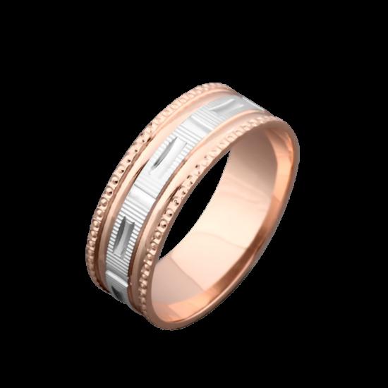 Обручальное кольцо золотое ОЗ-6507