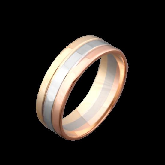 Обручальное кольцо золотое ОЗ-6602