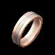 Обручальное кольцо золотое ОЗ-6604