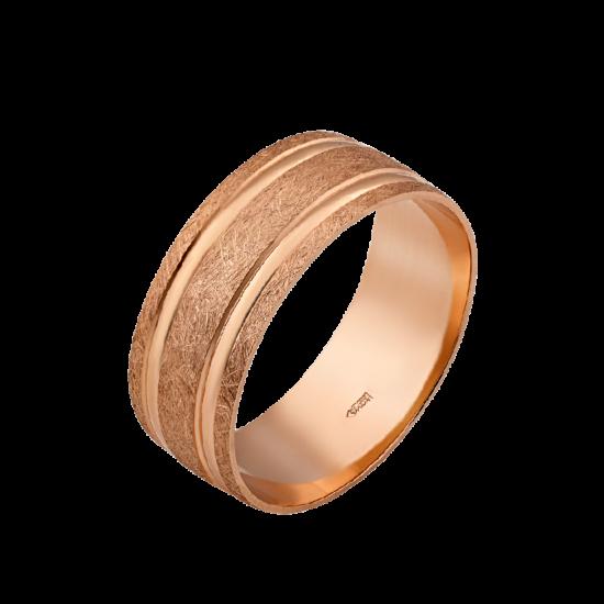 Обручальное кольцо золотое ОЗ-7001