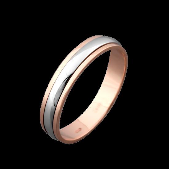 Обручальное кольцо золотое ОЗ-7502